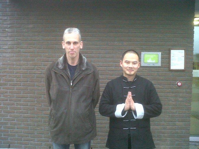 Shaolin Sifu Shi Heng Jin & Sifu Yves Vertommen