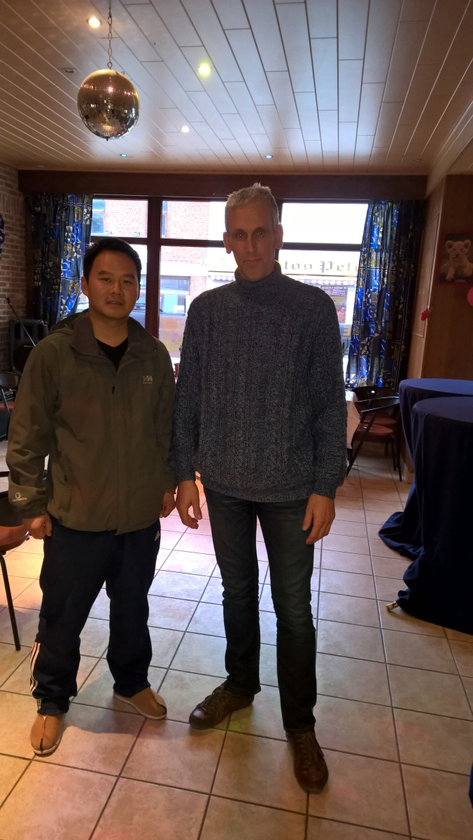 Had a nice drink and talk with my good friend Shi Heng Jin