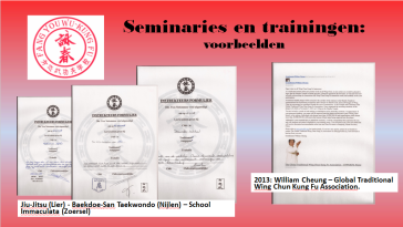 Seminaries en trainingen