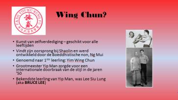 Wat is Wing Chun