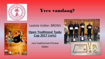 Yves vandaag-laatste competieties
